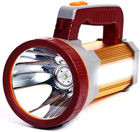 609 opinioni per AF-WAN Torcia ricaricabile a LED super luminosa, portatile, portatile, faretto