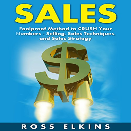 Sales audiobook cover art