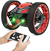 Click N' Play Remote Control RC Car Double Sided Off Road Stunt Rock Crawler Non Slip Vehicle 4WD 2.4Ghz (Colors May Vary)