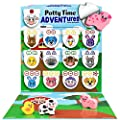 LIL ADVENTS Potty Time Adventures Potty Training Game - 14 Wood Block Toys, Chart, Activity Board, Stickers and Reward Badge for Toilet Training - Farm Animals from LIL ADVENTS, LLC