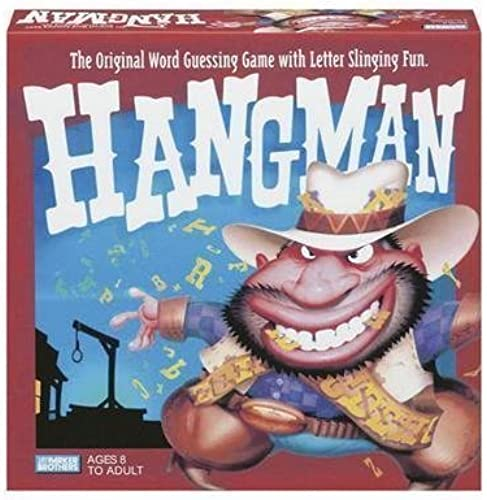 Hangman  The Classic Word Guessing Game by Parker Brothers