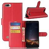 Funda® Flip Wallet Case for Doogee X20/X20L (Red)