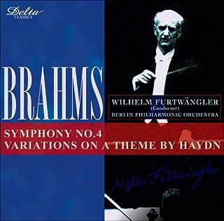 ブラームス:交響曲第4番/ハイドンの主題による変奏曲[第2世代復刻]