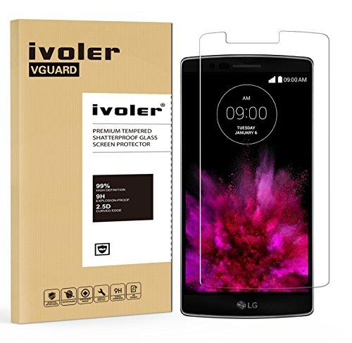 iVoler Pellicola Vetro Temperato per LG G Flex 2, Pellicola Protettiva, Protezione per Schermo