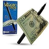 Magic Makers Pen Trick, Original, Easy Pen Thru Dollar Bill Penetrating Trick