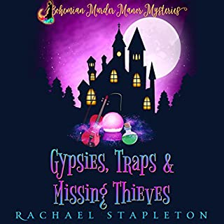 Gypsies, Traps & Missing Thieves audiobook cover art