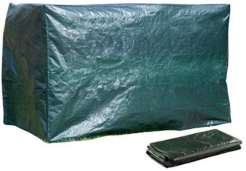 Royal Gardineer Regenschutz: XL-Abdeckhaube für Hollywood-Schaukel, 250 x 160 x 150 cm, 150 g/m² (Schutzhülle Hollywoodschaukel)