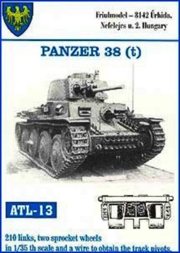 Friulmodel ATL13 1/35 Metal Track for Marder III early & Pz 38(t) by Tankrats AFV Depot
