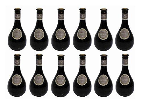 12x Kechribari GENESIS trockener Rotwein aus Griechenland 500ml 13% Vol. Xinomavro Merlot Makedonien Kechri roter Wein 12er Set + 2x Olivenöl Sachet a 10ml zum testen
