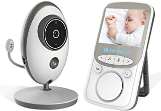 Wireless Baby Monitor Camera Digital Video Nigh Vision Temperature Monitor With Songs