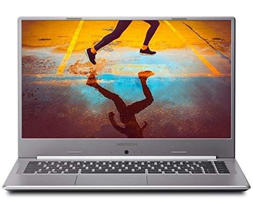 """Medion Akoya S15447 Plata Portátil 15.6"""" FullHD i5 10210U 256GB SSD 8GB Ram FreeDos"""