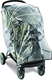 Graco Travel System Weather Shield, Baby Rain Cover, Universal Size to fit Most Travel Systems, Waterproof, Windproof, Ventilation, Protection, Shade, Umbrella, Pram, Vinyl, Clear, Plastic