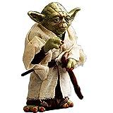 FMBK666 Star Wars Master Yoda Set, Modelo Coleccionable Anime periférico Star Wars DC Doll 12cm Mast...