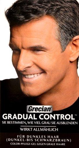 Grecian Gradual Control für dunkles Haar (Dunkel bis Schwarzbraun)
