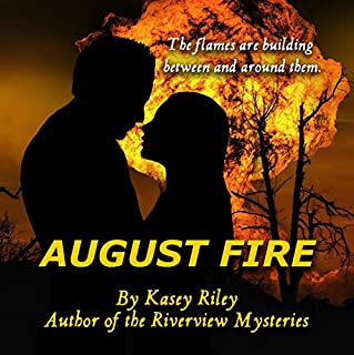 August Fire audiobook cover art