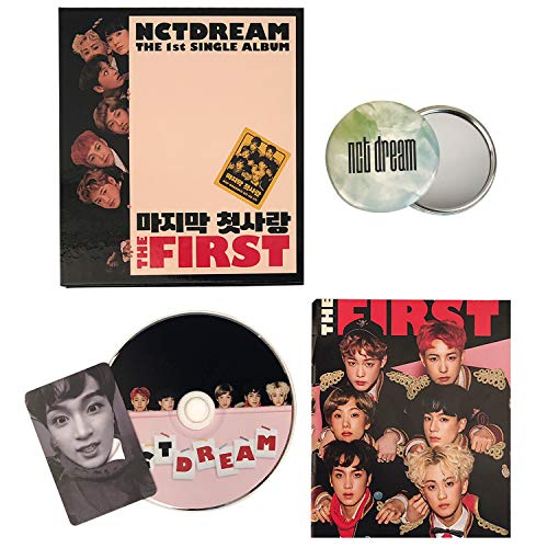 NCT DREAM 1st Single Album - [ THE FIRST ] CD + Photobook + Photocard + FREE GIFT /...