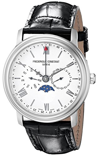 Frederique Constant Men's FC270SW4P6 Business Time Analog Display Swiss Quartz...