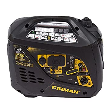 Firman 2100/1700 Watt Recoil Start Inverter Portable Generator CARB and cETL Certified
