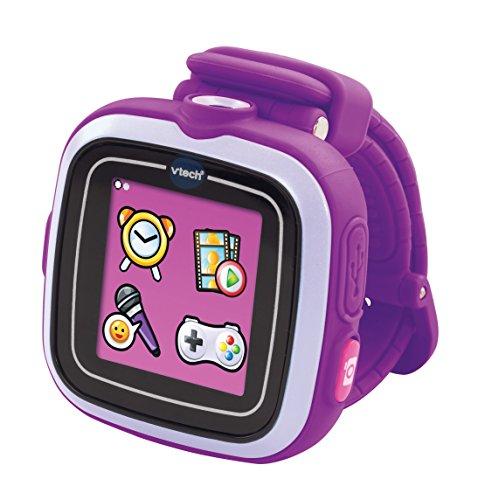 "VTech - SmartWatch Infantil, Kidizoom (128 MB, Pantalla de 1.44"", Resolution:128 x 128 Pixeles), Color Morado - versión Alemana"