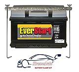 Kit de support de fixation de sécurité XtremeAuto pour batterie de voiture