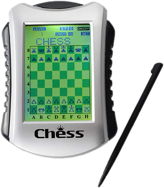 Lyght Luxury Handheld Electronic Chess Game 20 Ch Built-in 100 Ranking TOP4 Levels