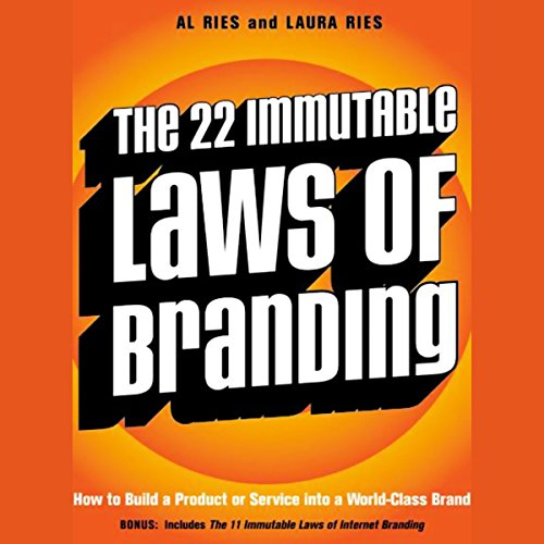 The 22 Immutable Laws of Branding audiobook cover art