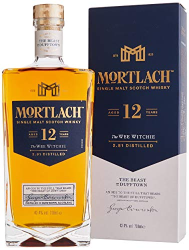 Mortlach 12 Jahre Single Malt Whisky (1 x 0.7 l)