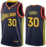 Movement Stephen Curry Jersey, 2021 Temporada Golden State Warriors City Edition Camisetas de Baloncesto, Ropa Deportiva de Entrenamiento sin Mangas (Size:/M,Color:G1)