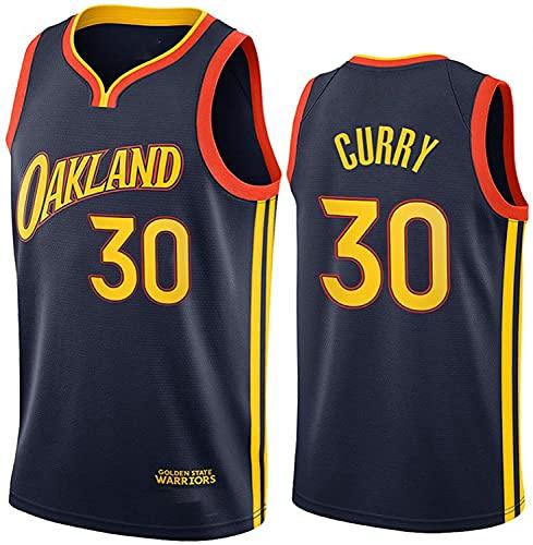 Stephen Curry Jersey, 2021 Temporada Golden State Warriors City Edition Camisetas de Baloncesto, Ropa Deportiva de Entrenamiento sin Mangas (Size:/M,Color:G1)
