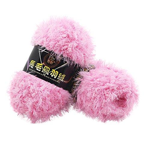 sunnymi 50g 3mm DIY Wolle Super Soft Baby Bambus Cotton Wool Häkeln Hand Stricken Kaschmir Garn Milch Baumwolle Geschenk Garn Strick Wolle Pullover Hüte Schals Decke (D, 3mm)
