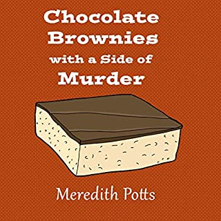 Chocolate Brownies with a Side of Murder audiobook cover art