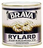 Brava Rylard Supersmalto, Bianco Satinato, 750 ml