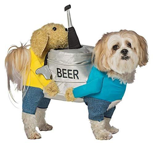 Rasta Imposta Dogs Carrying Beer Keg Dog Costume - MD