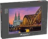 Puzzle 1000 Teile Kölner Dom und Hohenzollernbrücke Fotopuzzle-Kollektion 'Kirche'