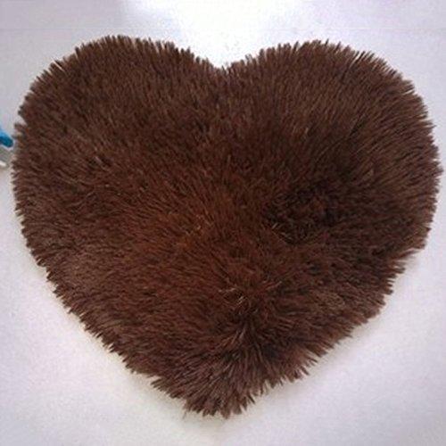 kexinda Herz-geformte rutschfeste Soft-Tufting-Teppichmatte Teppichboden-Matten-Bereichs-Wolldecke