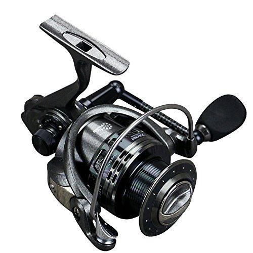Carrete de pesca LM2000-5000 Metal Fish Reel Carbon Rocker