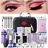 EBANKU 22PCS Eyelash Grafting Set Eyelash Extension For Starter Use Grafting Set Eyelashes,Lash Starter Kit, Eyelashes Extension Practice