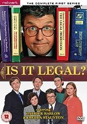 Is It Legal? on DVD