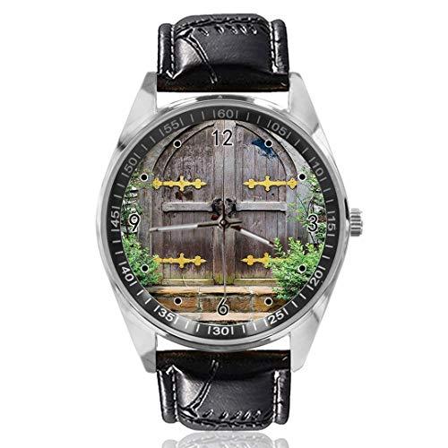 Age Heritage Reloj de Pulsera para Puerta de Hadas, con diseño Personalizado, analógico, de...