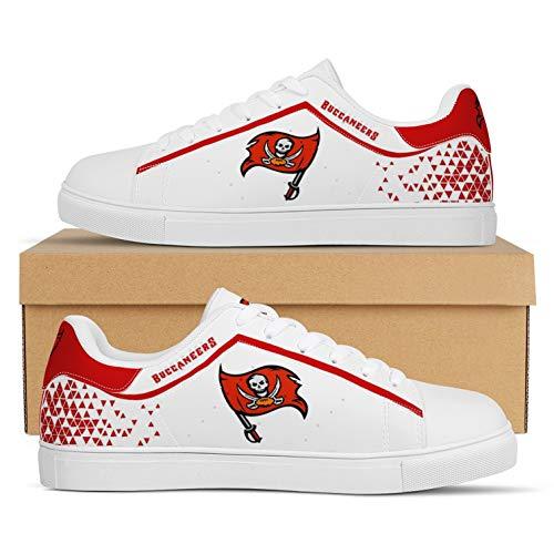 Jerseys Buccaneers Fans Zapatos Zapatillas American Football LeagueComo Fanáticos(Size:Women's shoes37,Color:G1)