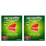 Nicorette InvisiPatch 25mg Quit Smoking Patch 2x7s