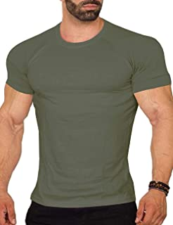 COOFANDY Men's Workout Tee Short Sleeve Gym Training Bodybuilding Muscle Fitness T Shirt