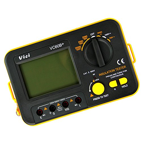 Buyee Vc60b+ Insulation Resistance Tester Meter Megohmmeter [Energy Class A++]