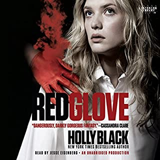 Red Glove audiobook cover art