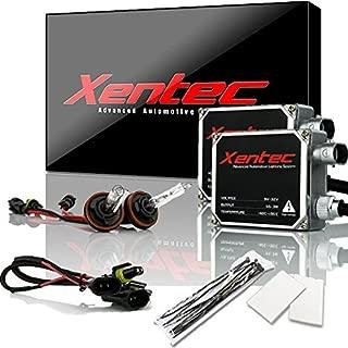 XENTEC 55W Standard Size Ballasts x 2 bundle with 2 x Xenon Bulb H11 (H8/H9) offroad 5000K (OEM White) offroad