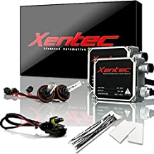 XENTEC 55W Standard Size Ballasts x 2 bundle with 2 x Xenon Bulb H11 (H8/H9) offroad 8000K (Iceberg Blue) offroad