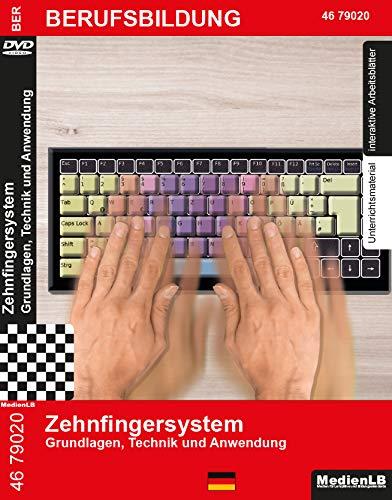 Zehnfingersystem - Grundlagen, Technik und Anwendung Nachhilfe geeignet, Unterrichts- und Lehrfilm