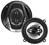 BOSS Audio Systems NX524 300 Watt Per Pair, 5.25 Inch, Full Range, 4 Way Car Speakers, Sold in Pairs