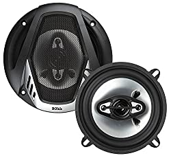 in budget affordable BOSS Audio Systems NX524, 4-way car speaker, 300 W per pair, 5.25 inch full range, available in pairs