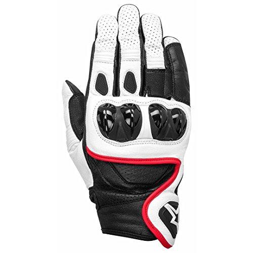 Alpinestars Celer X-Trafit - Guantes de Gore-Tex (talla XL), color blanco, negro y rojo